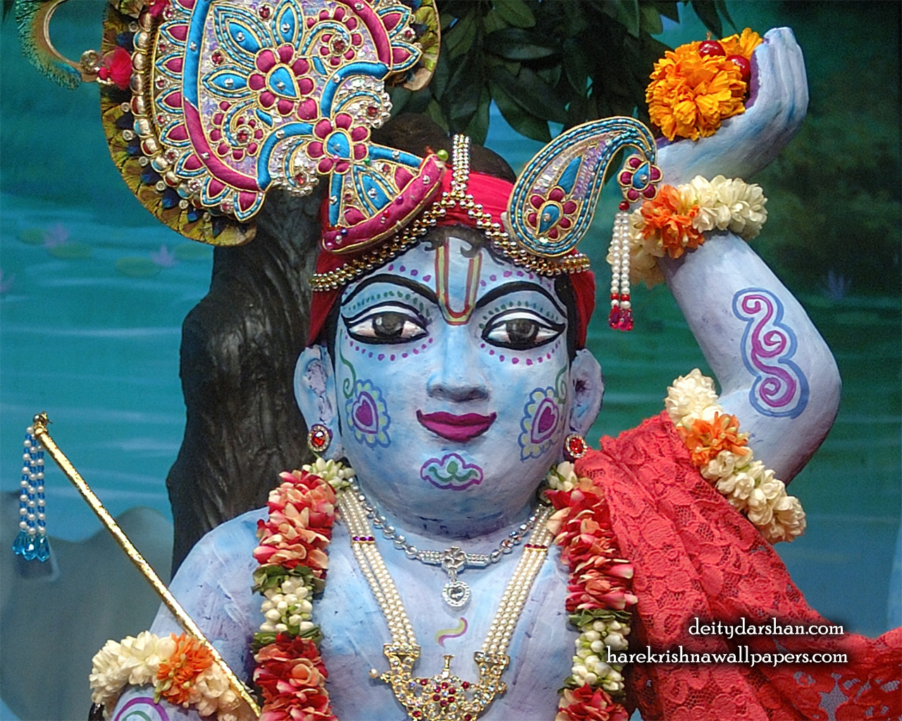 Sri Gopal Close up Wallpaper (038) Size 1280x1024 Download
