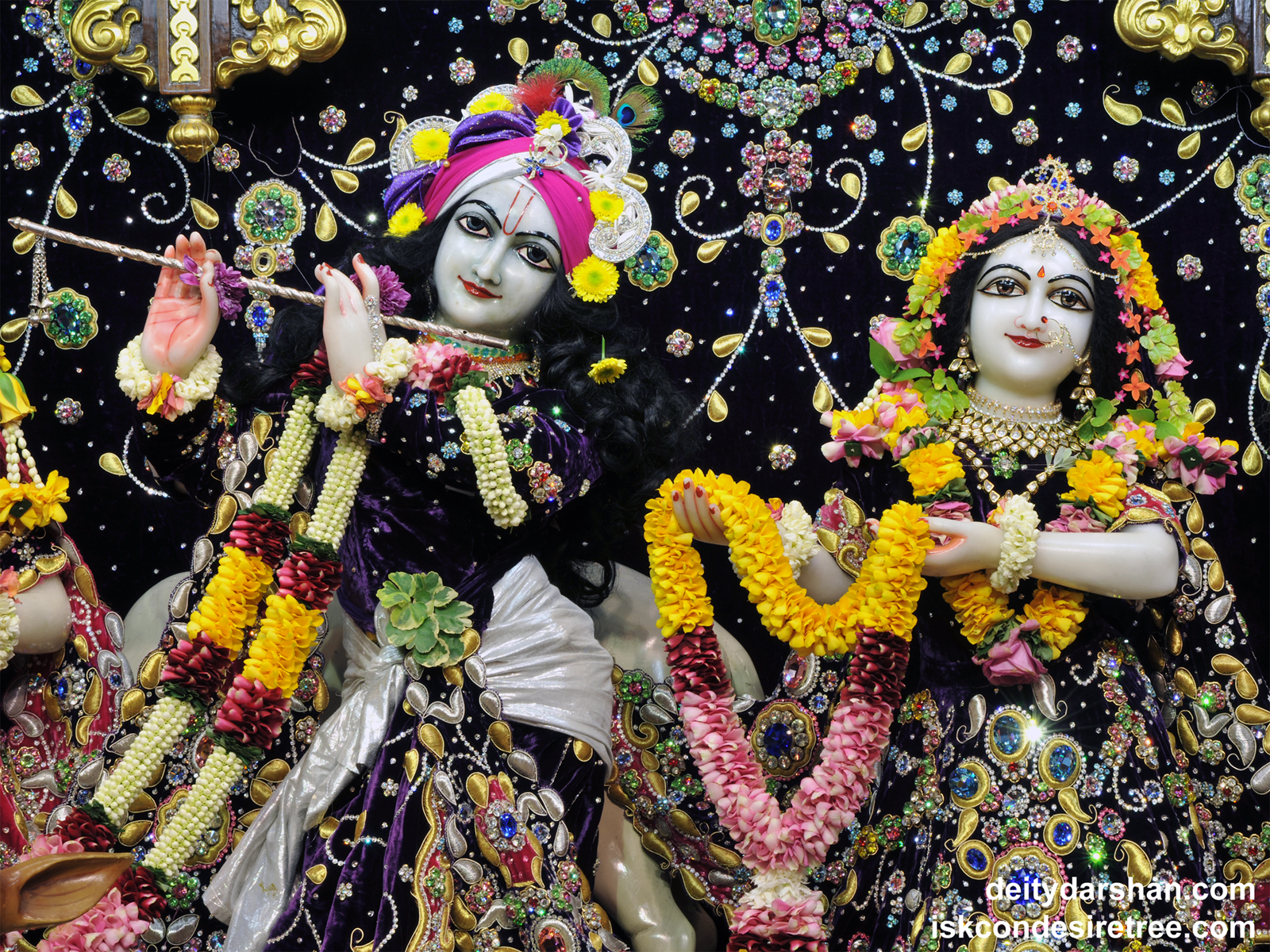 Sri Sri Radha Gopinath Close up Wallpaper (038) Size1600x1200 Download