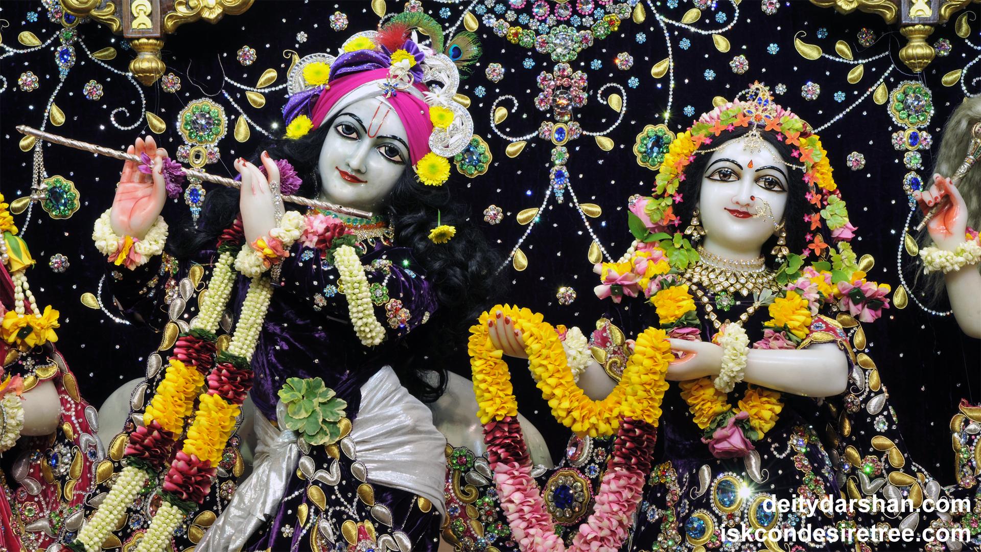 Sri Sri Radha Gopinath Close up Wallpaper (038) Size 1920x1080 Download