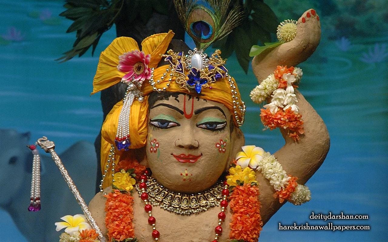Sri Gopal Close up Wallpaper (039) Size 1280x800 Download