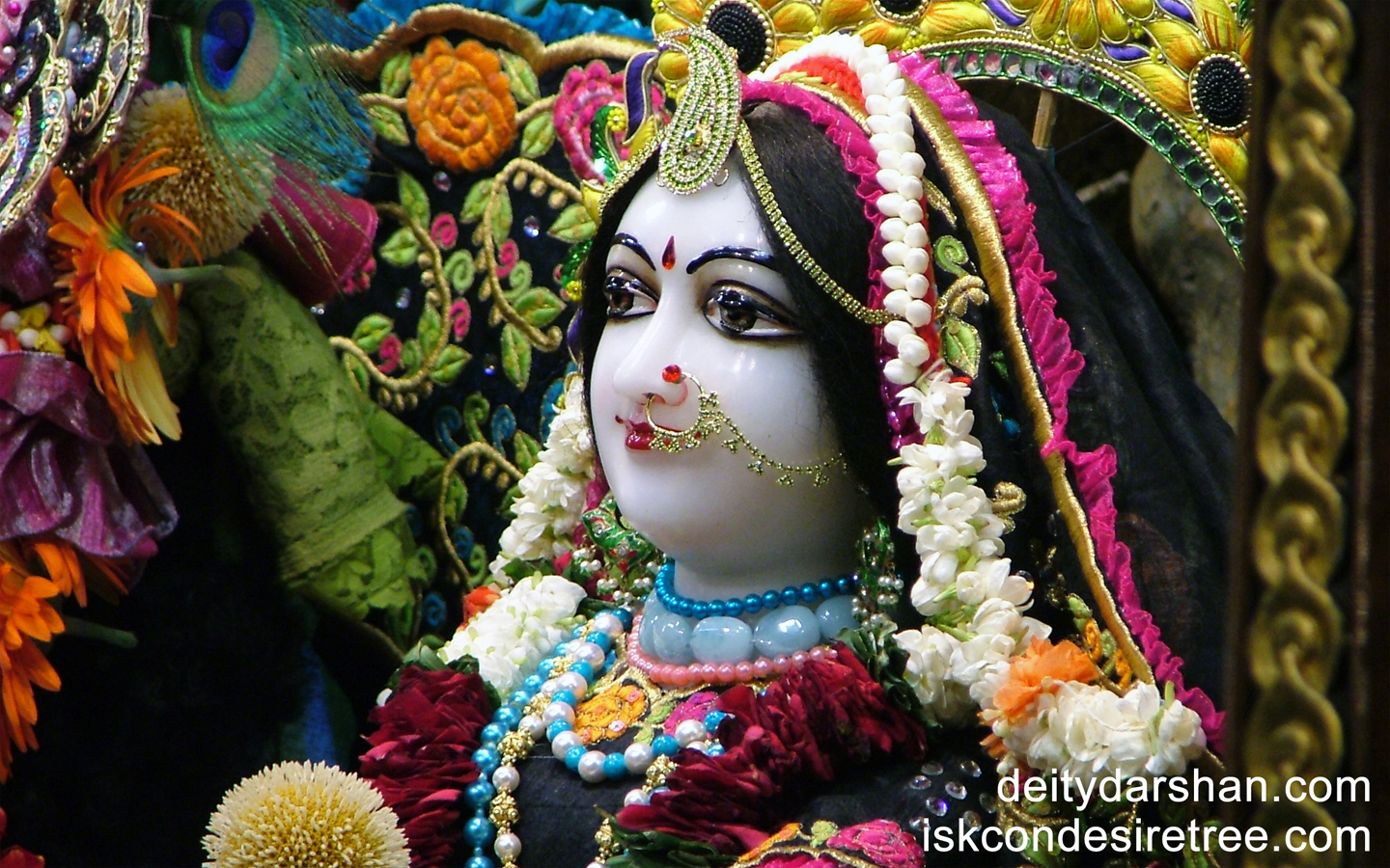 Srimati Radharani Close up Wallpaper (040) Size 1440x900 Download