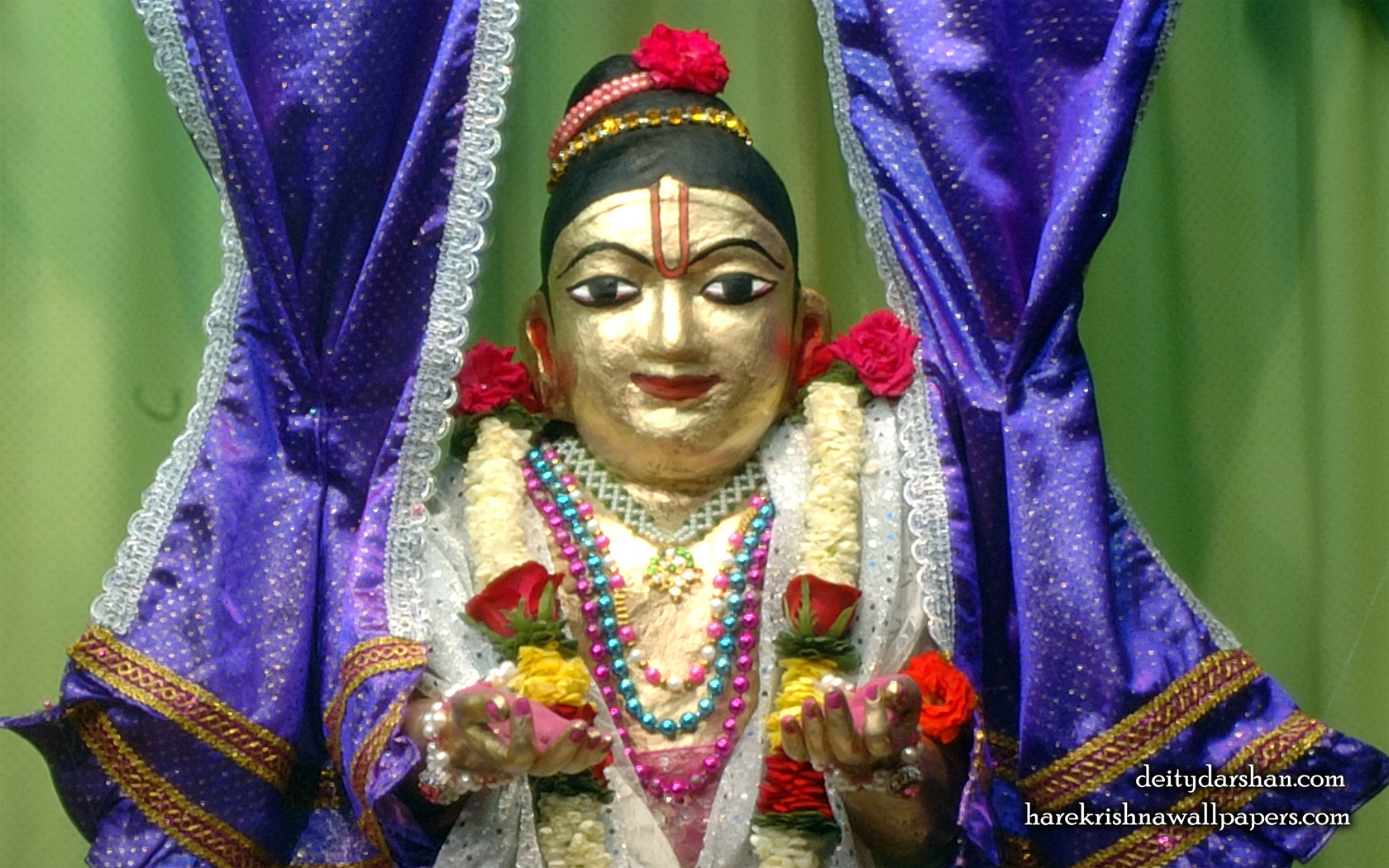 Sri Gopal Close up Wallpaper (042) Size 1680x1050 Download