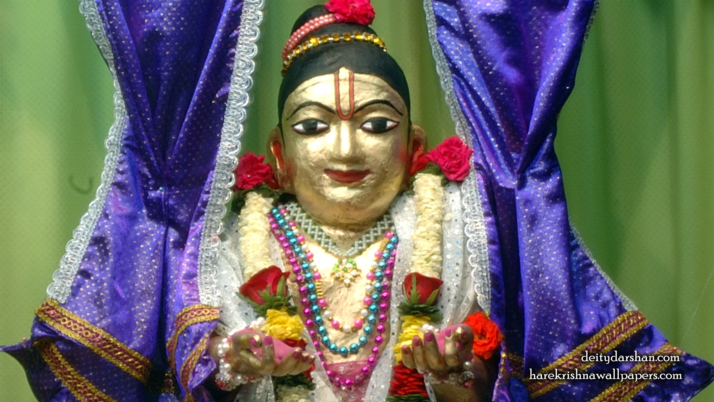 Sri Gopal Close up Wallpaper (042) Size 2400x1350 Download