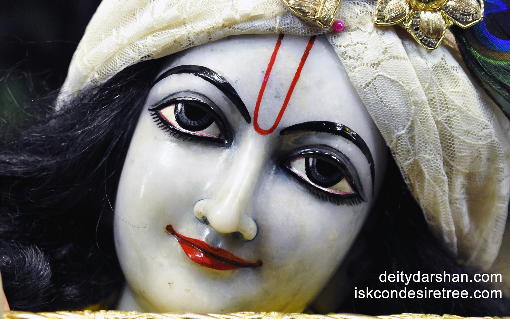 Sri Gopinath Close up Wallpaper (042) Size 1680x1050 Download