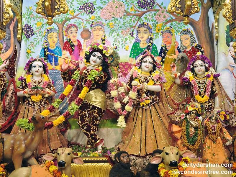 Sri Sri Radha Gopinath Lalita Vishakha Wallpaper (049)