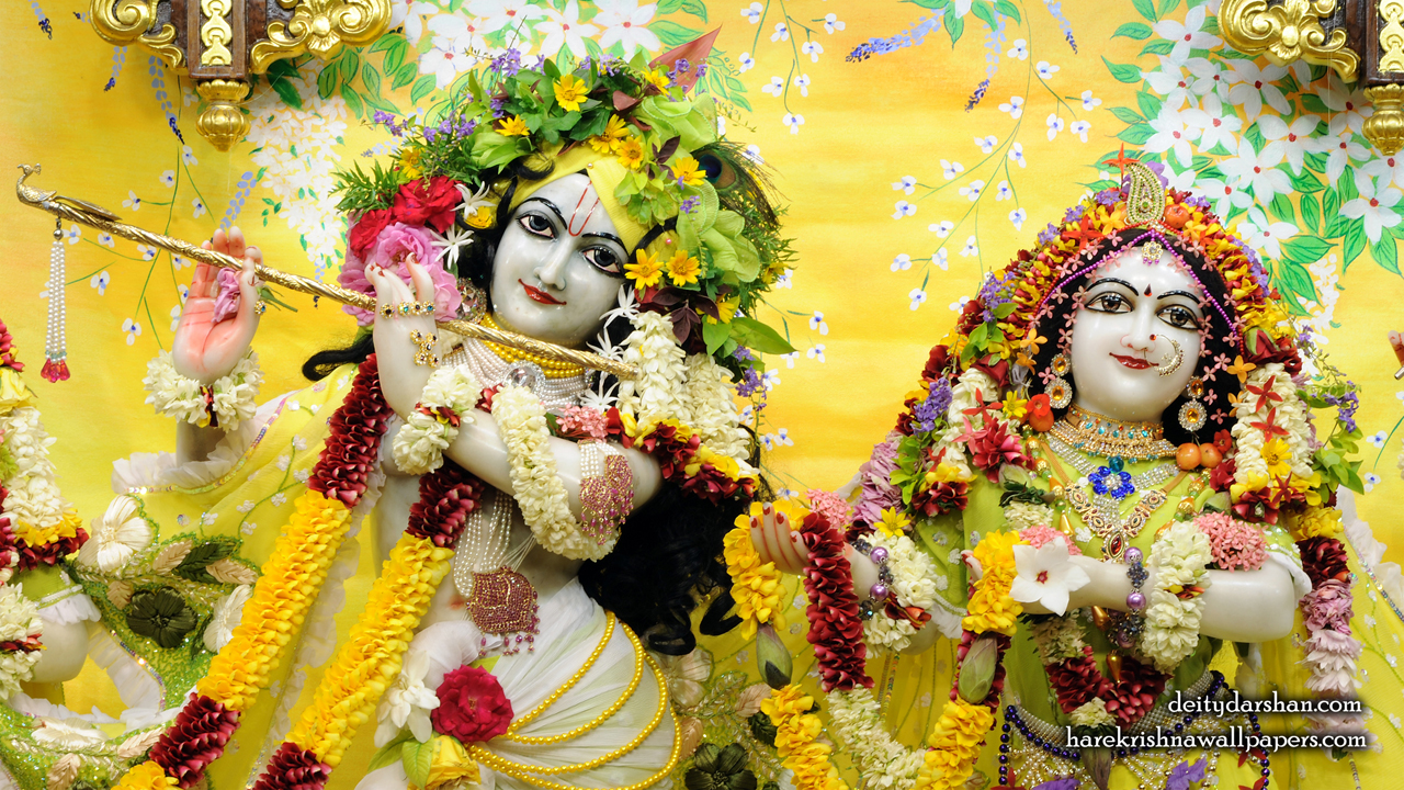 Sri Sri Radha Gopinath Close up Wallpaper (052) Size1280x720 Download