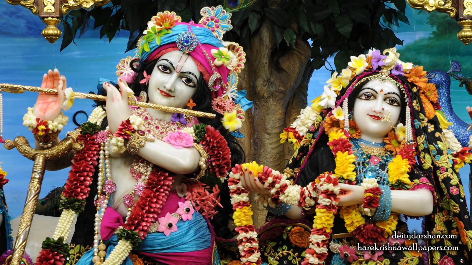 Sri Sri Radha Gopinath Close up Wallpaper (053) Size 1600x900 Download
