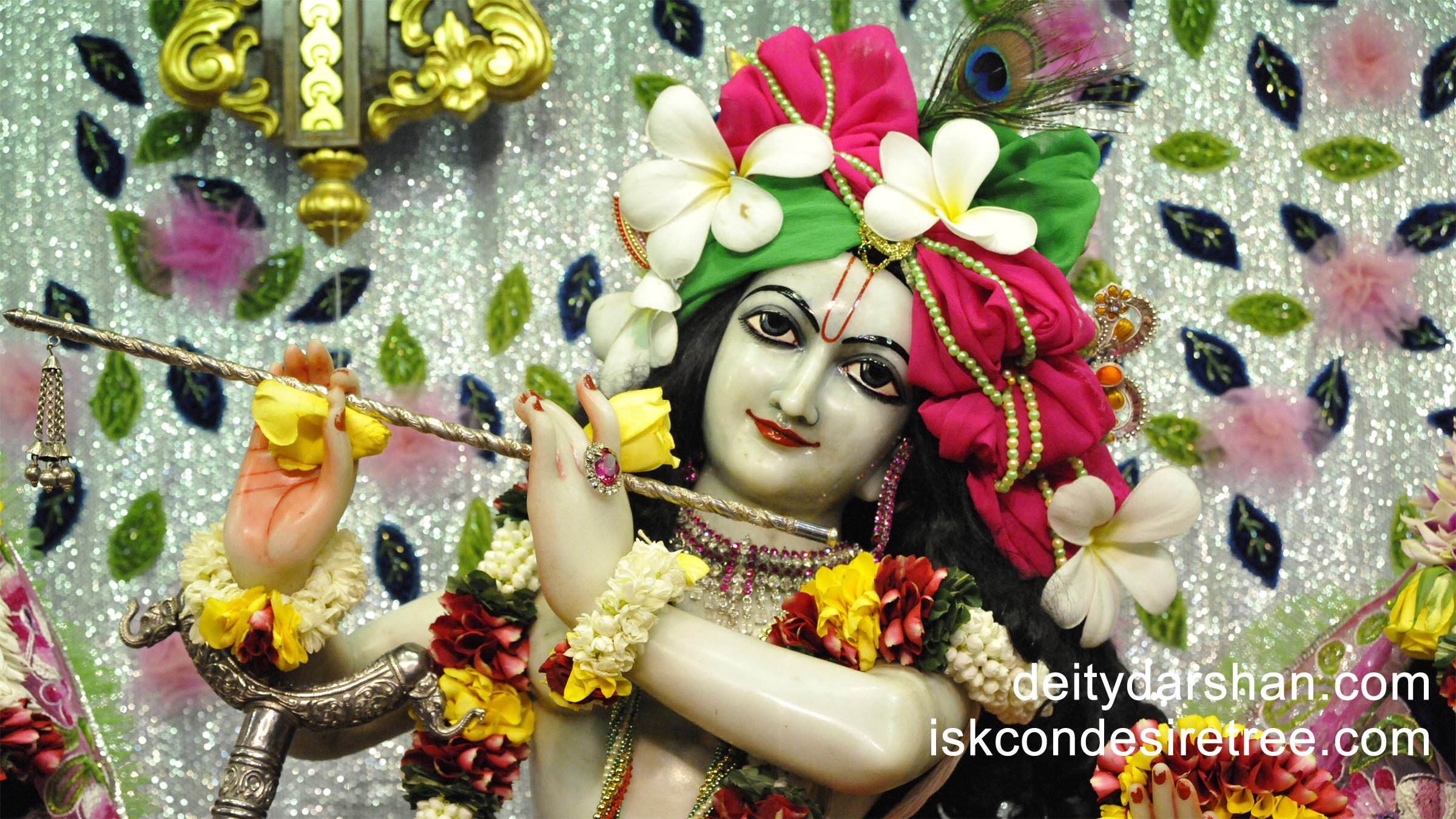 Sri Gopinath Close up Wallpaper (054) Size 2400x1350 Download
