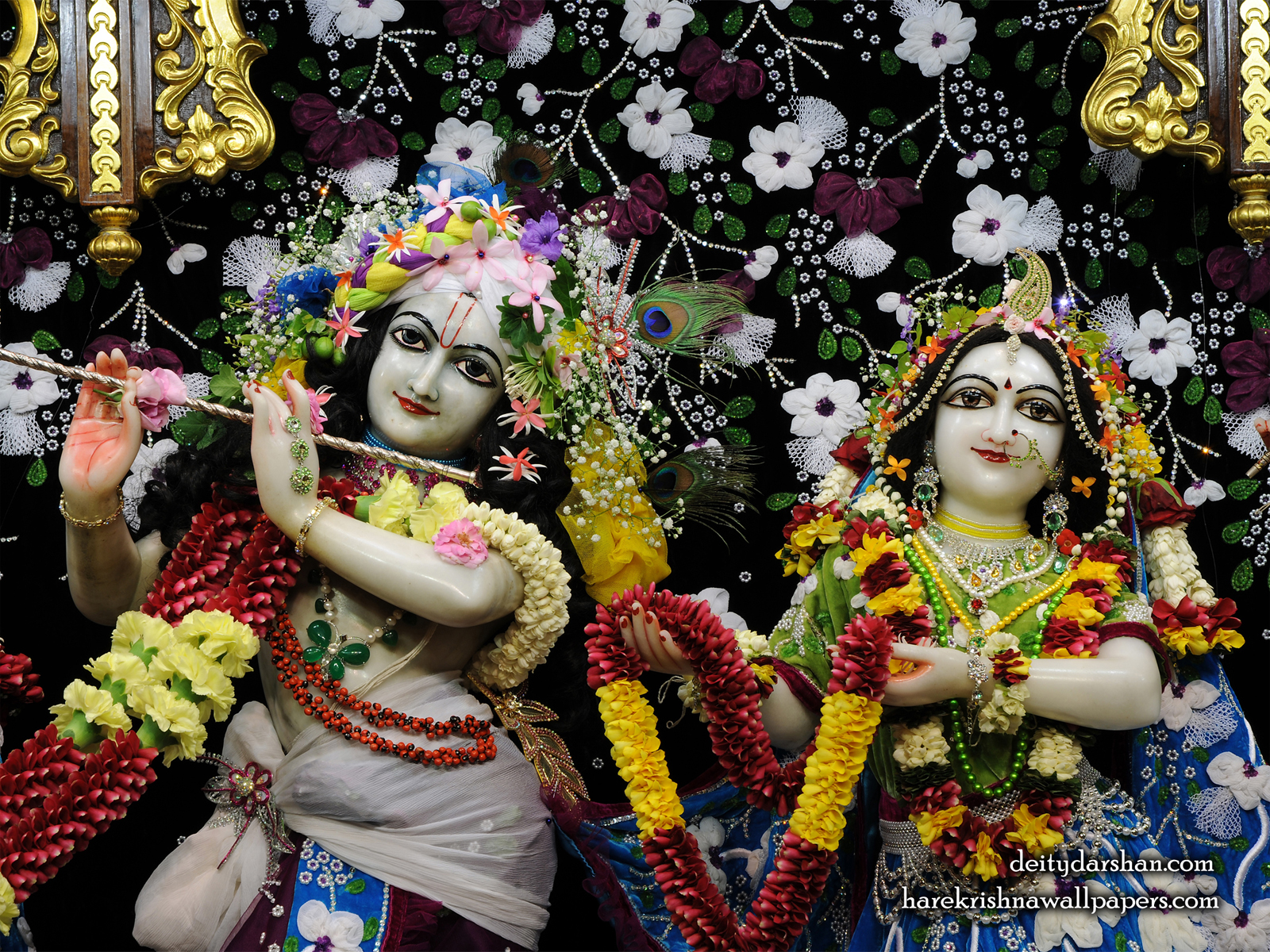 Sri Sri Radha Gopinath Close up Wallpaper (054) Size1600x1200 Download