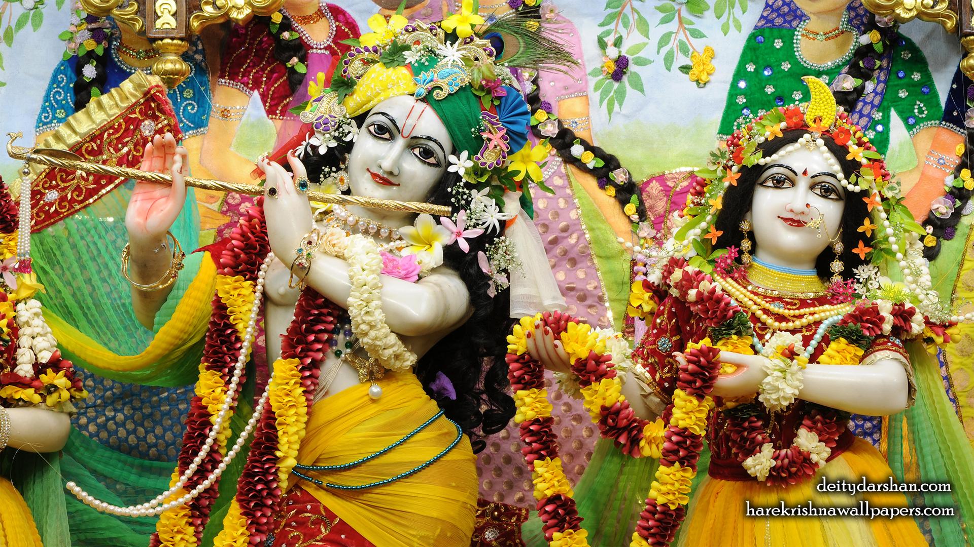 Sri Sri Radha Gopinath Close up Wallpaper (055) Size 1920x1080 Download