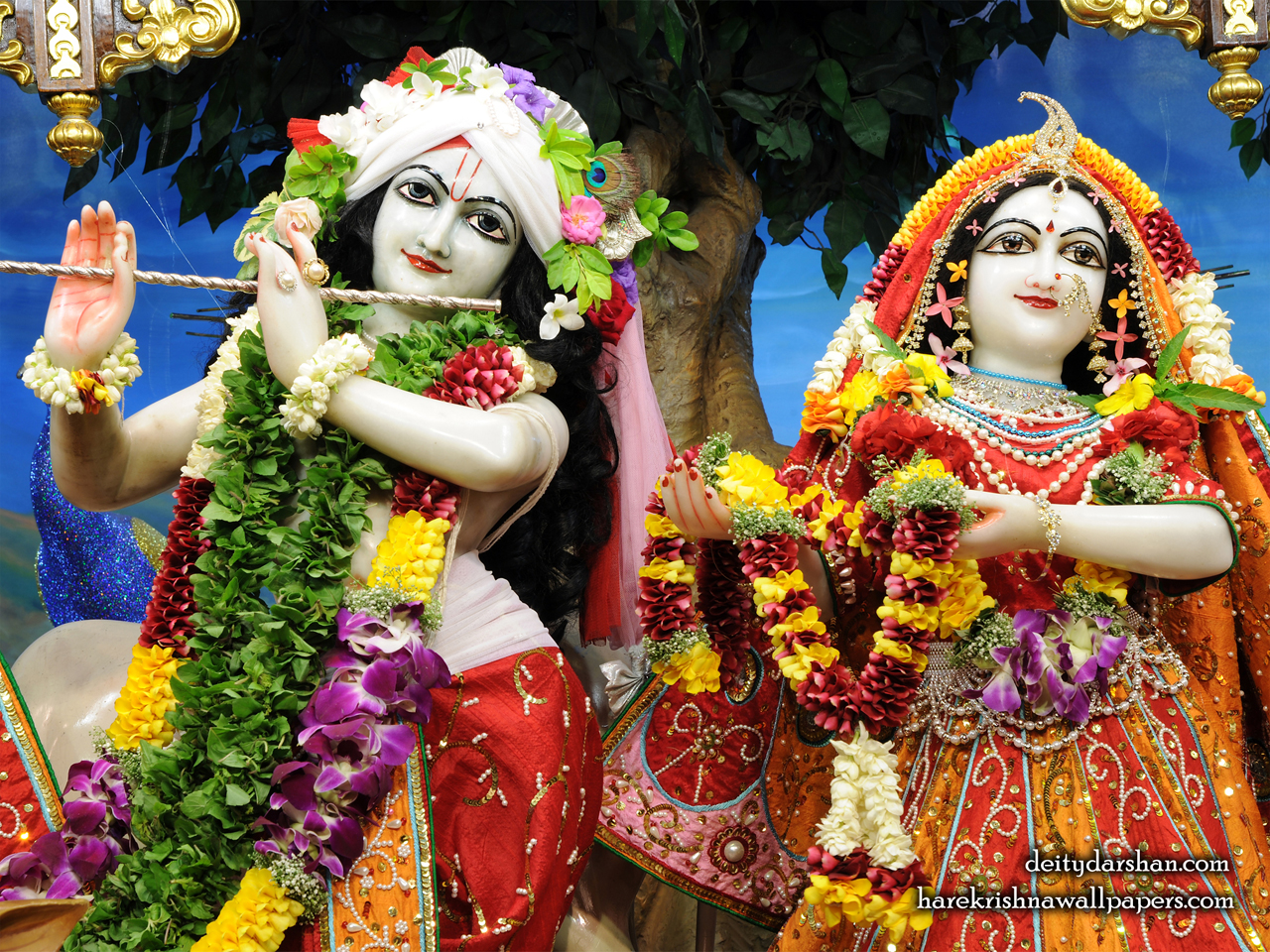 Sri Sri Radha Gopinath Close up Wallpaper (056) Size 1280x960 Download