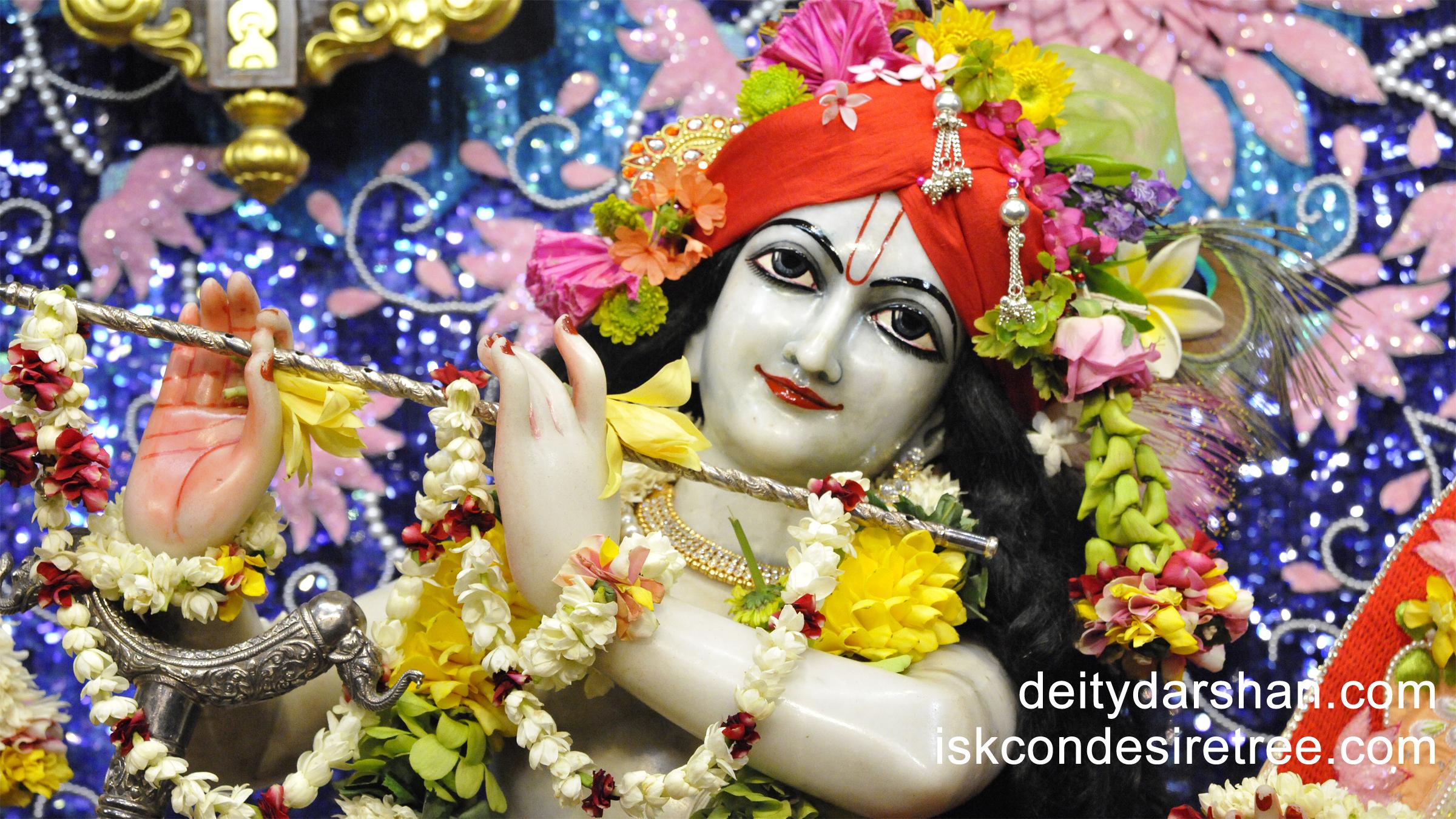 Sri Gopinath Close up Wallpaper (057) Size 2400x1350 Download