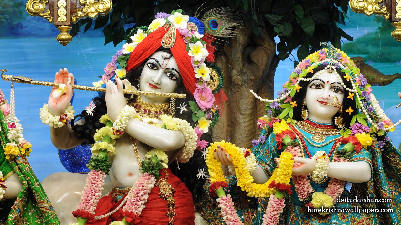Sri Sri Radha Gopinath Close up Wallpaper (057) Size1280x720 Download