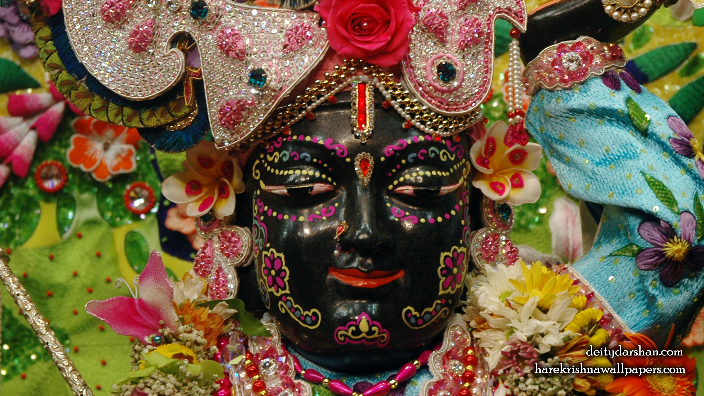 Sri Gopal Close up Wallpaper (058) Size 2400x1350 Download