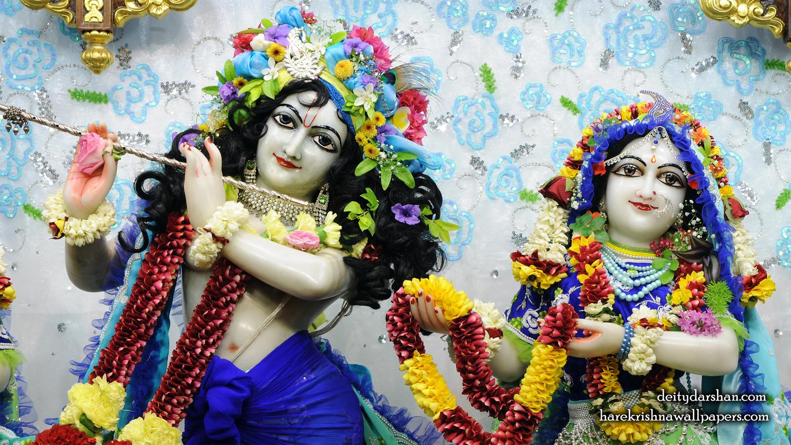 Sri Sri Radha Gopinath Close up Wallpaper (059) Size 1600x900 Download