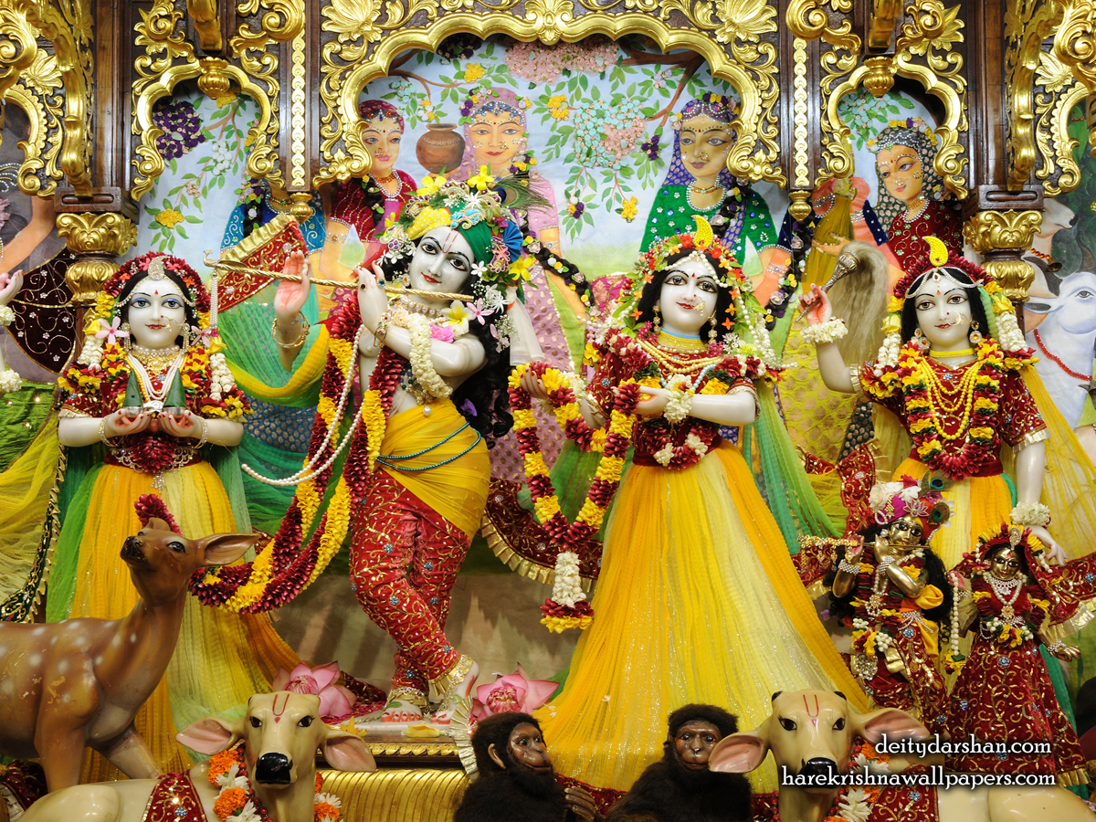 Sri Sri Radha Gopinath Lalita Vishakha Wallpaper (059) Size1200x900 Download
