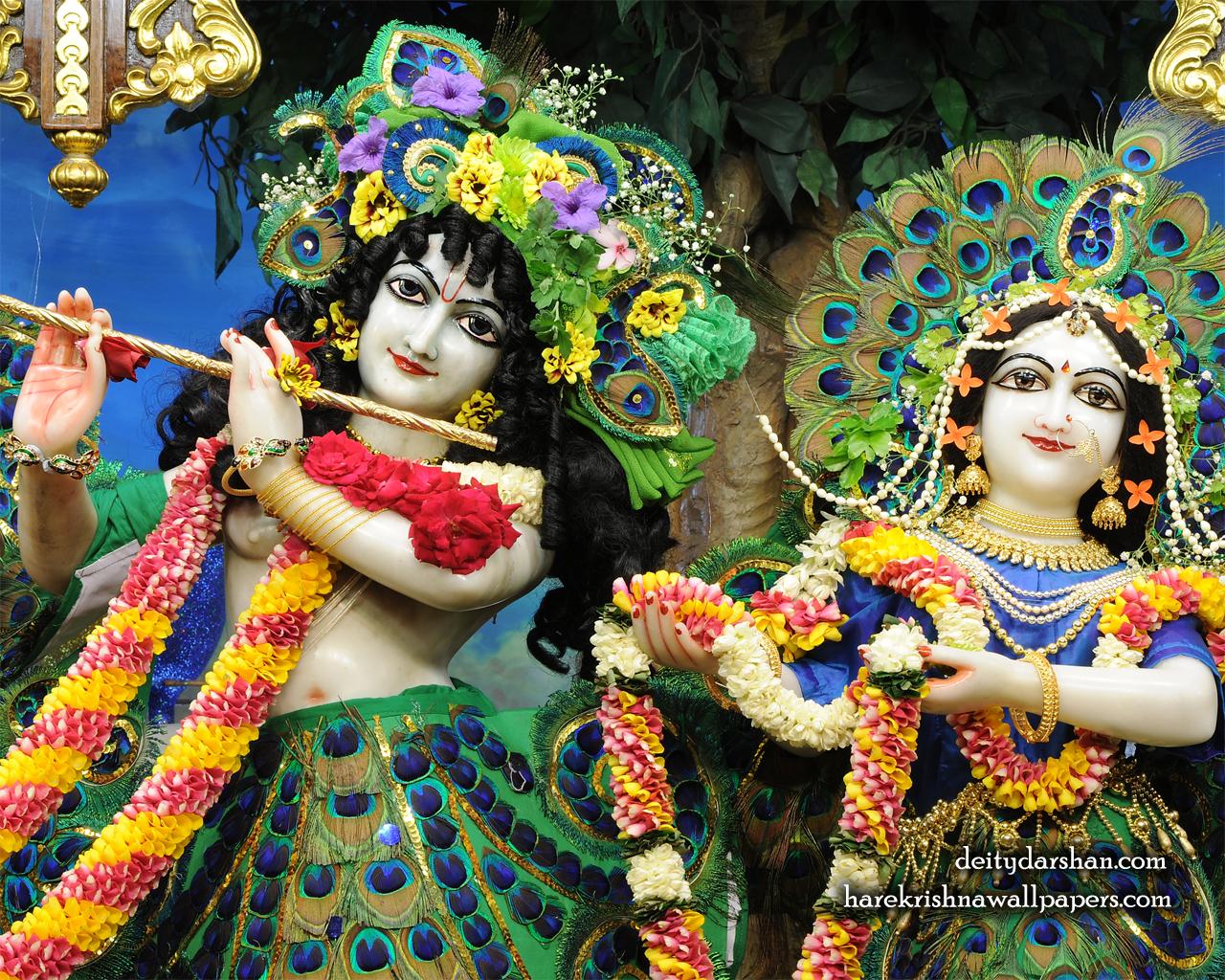 Sri Sri Radha Gopinath Close up Wallpaper (061) Size 1280x1024 Download
