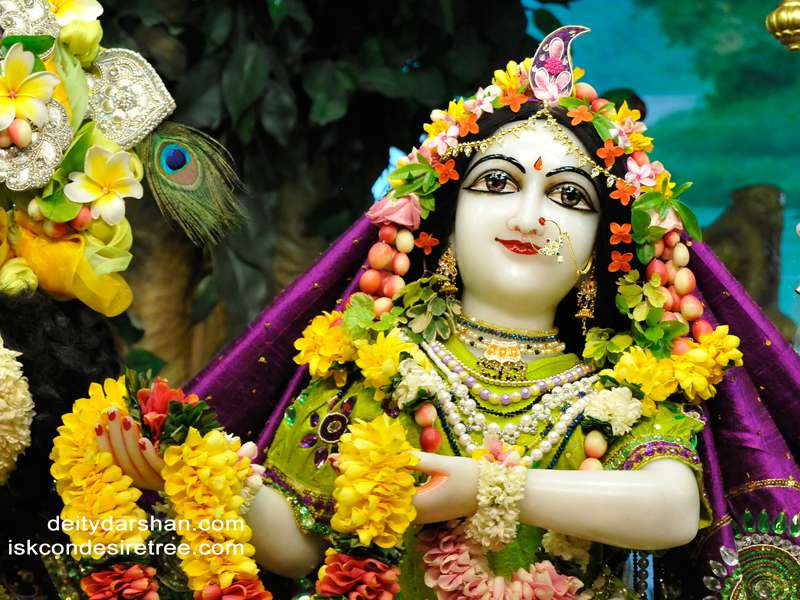 Srimati Radharani Close up Wallpaper (066)