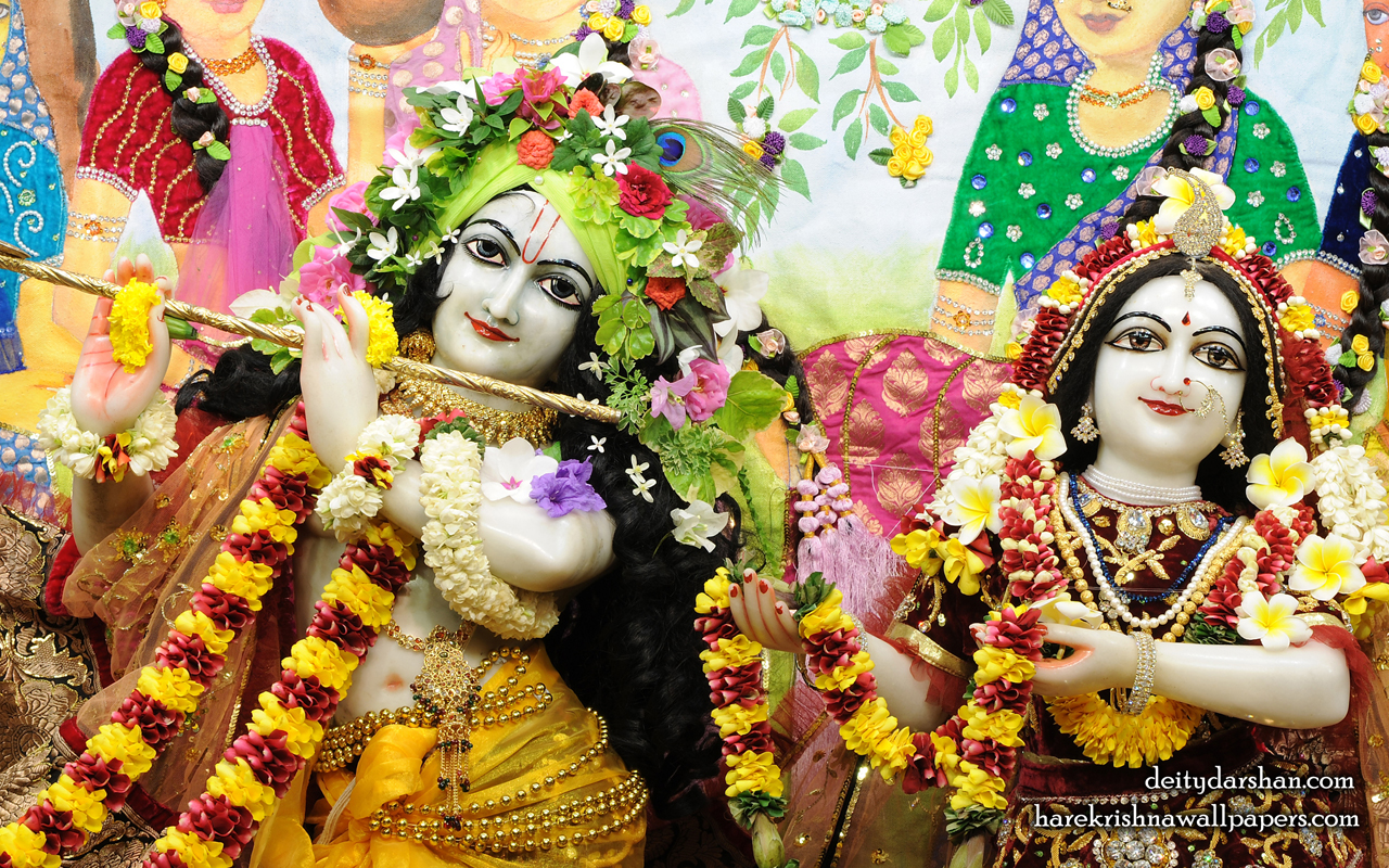 Sri Sri Radha Gopinath Close up Wallpaper (066) Size 1280x800 Download