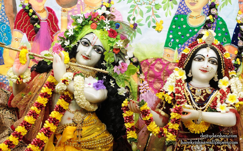 Sri Sri Radha Gopinath Close up Wallpaper (066) Size 1440x900 Download