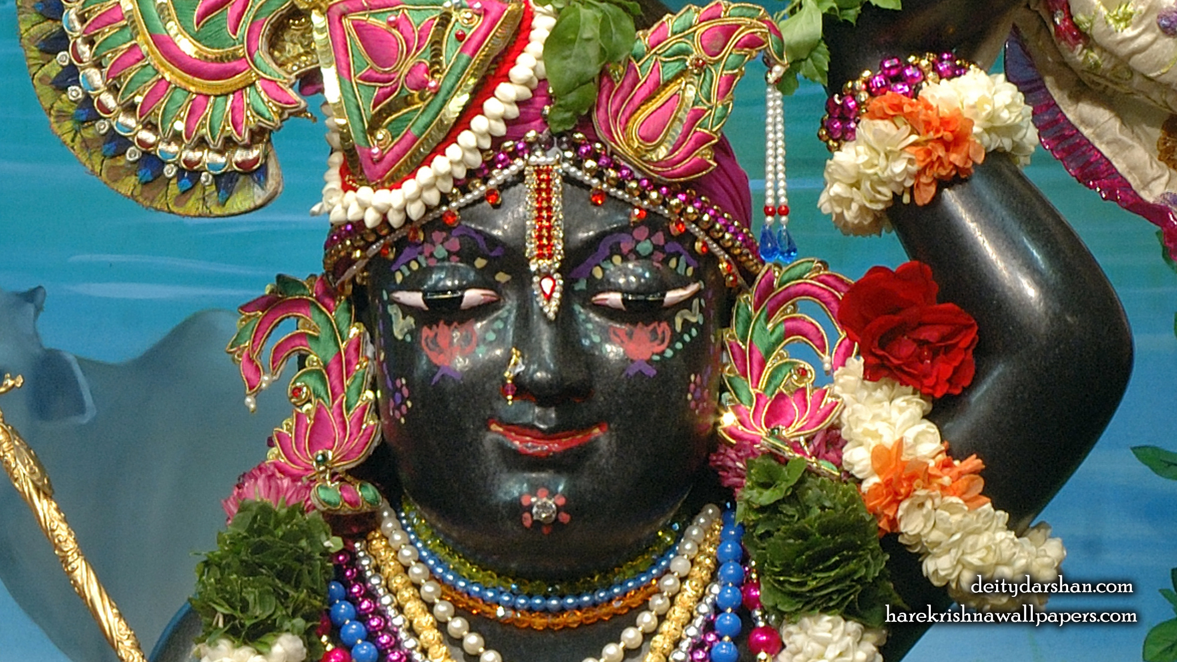 Sri Gopal Close up Wallpaper (067) Size 2400x1350 Download