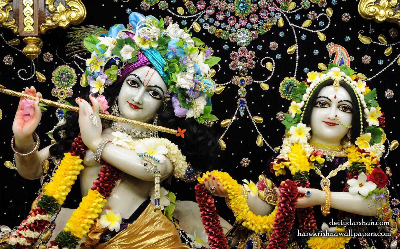 Sri Sri Radha Gopinath Close up Wallpaper (067) Size 1440x900 Download