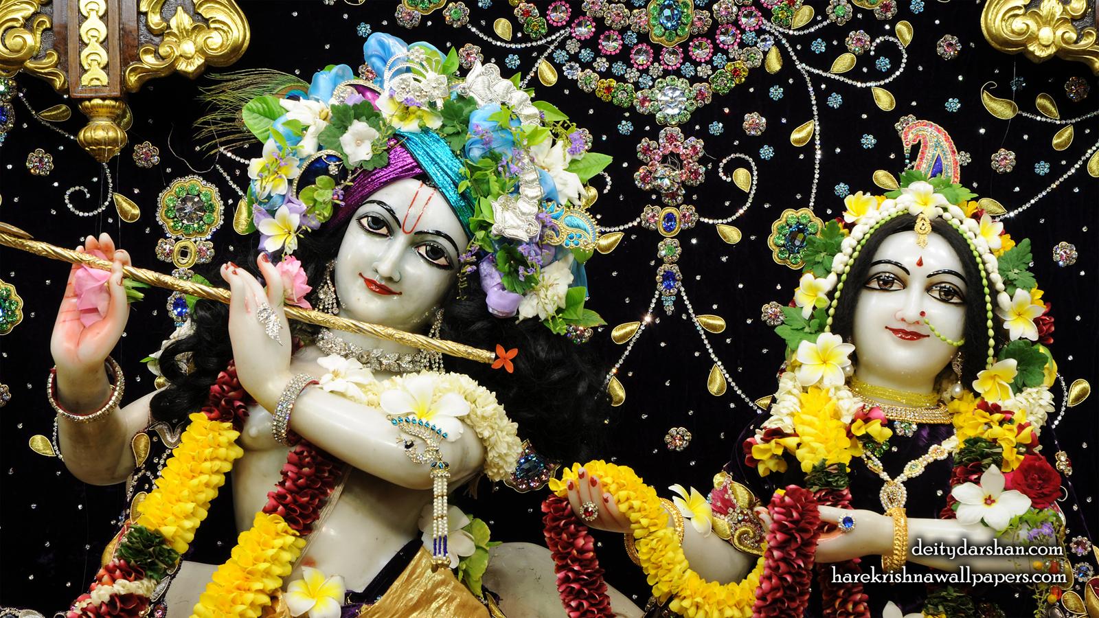 Sri Sri Radha Gopinath Close up Wallpaper (067) Size 1600x900 Download