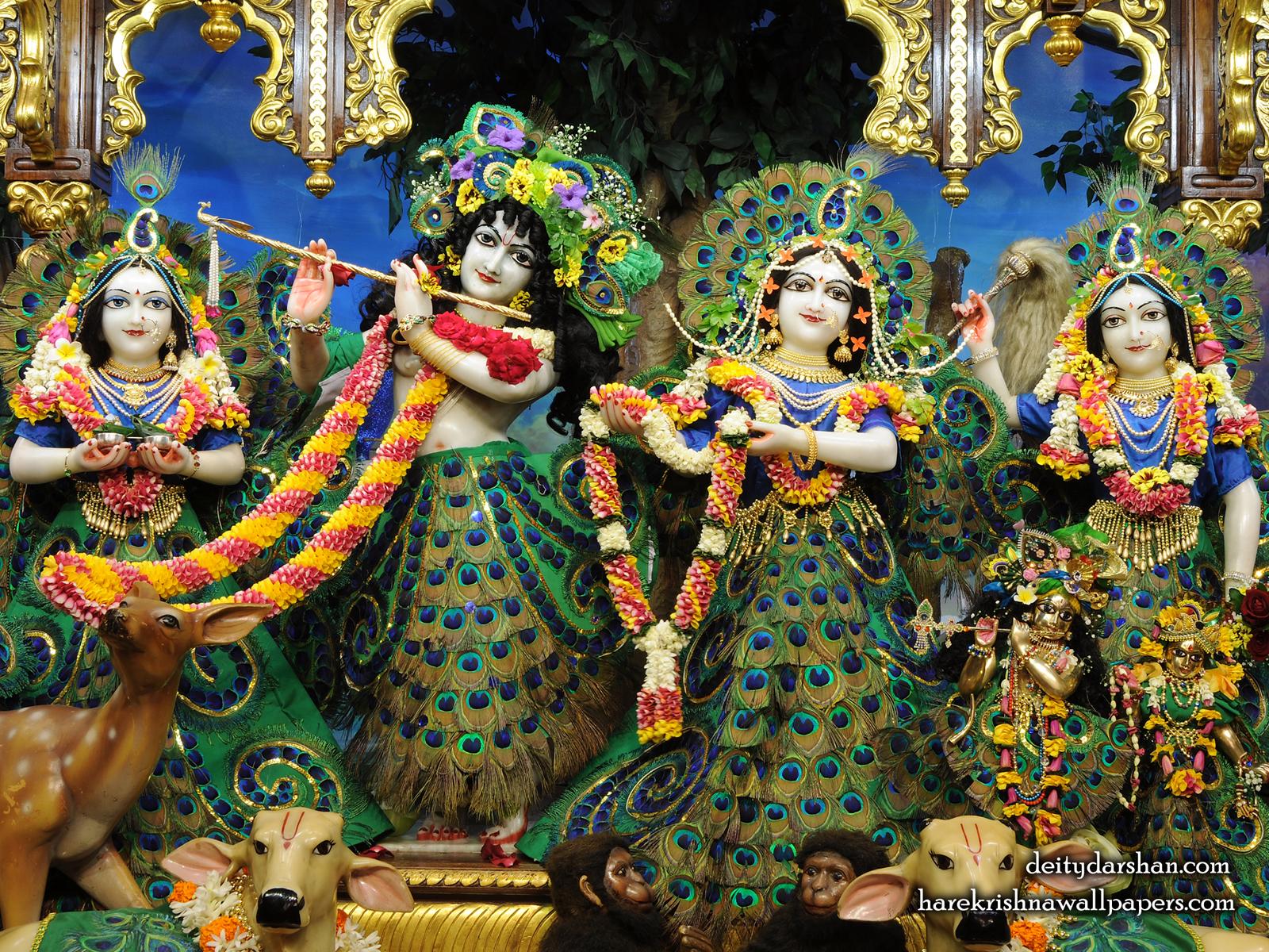 Sri Sri Radha Gopinath Lalita Vishakha Wallpaper (067) Size1600x1200 Download