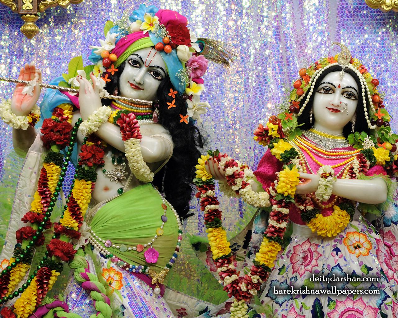 Sri Sri Radha Gopinath Close up Wallpaper (068) Size 1280x1024 Download