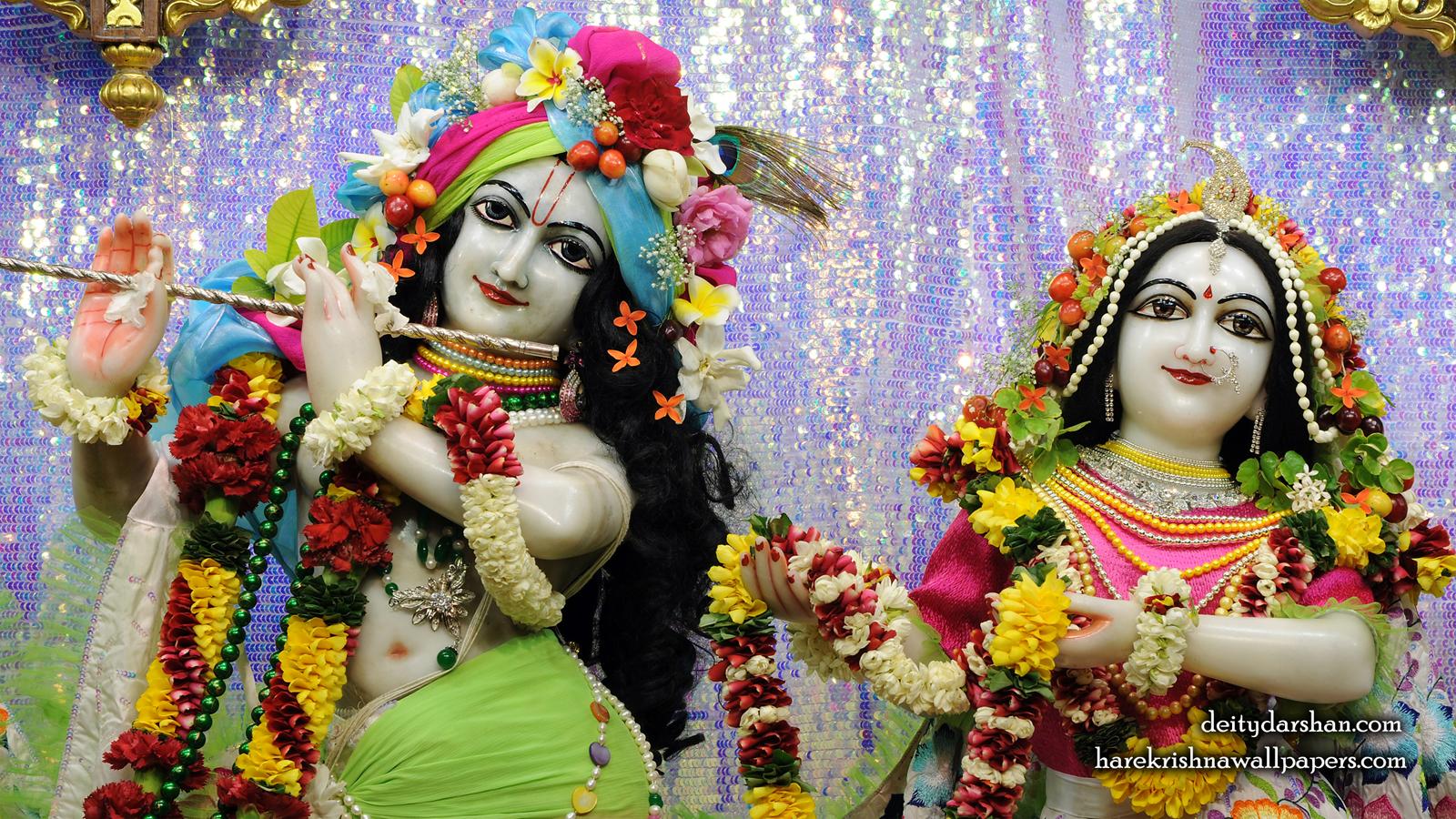 Sri Sri Radha Gopinath Close up Wallpaper (068) Size 1600x900 Download