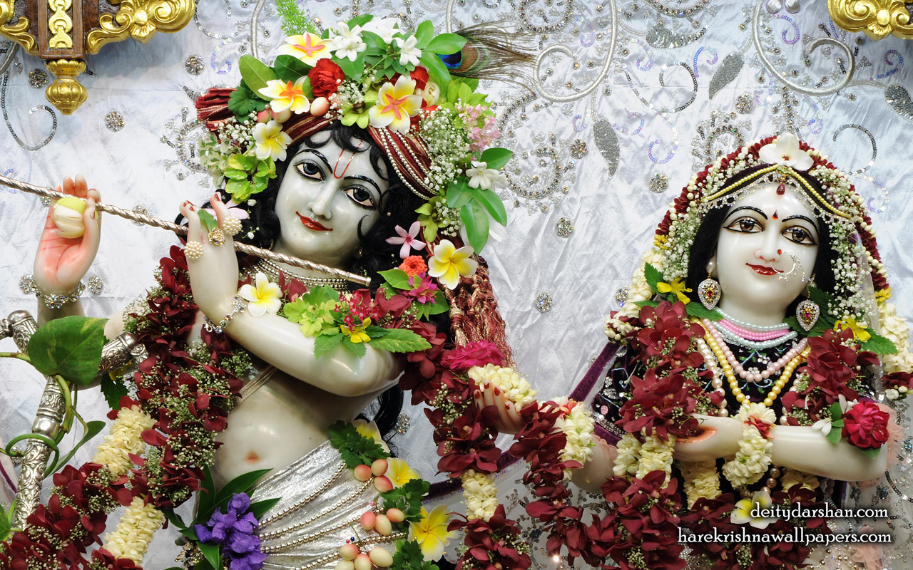 Sri Sri Radha Gopinath Close up Wallpaper (069) Size 1280x800 Download