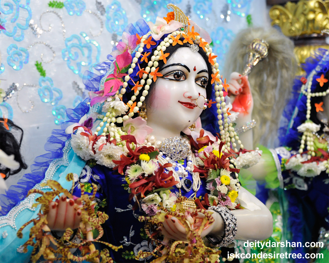 Srimati Radharani Close up Wallpaper (079) Size 1280x1024 Download