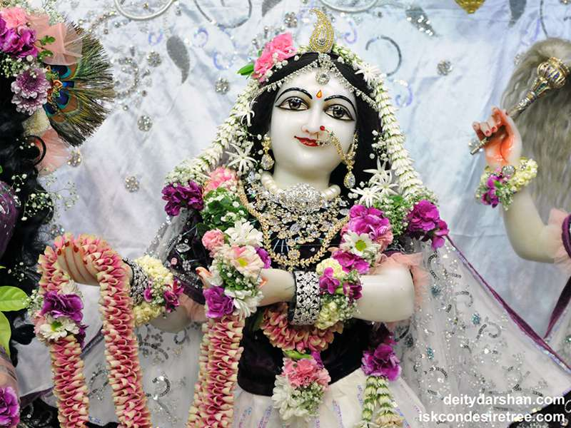 Srimati Radharani Close up Wallpaper (083)