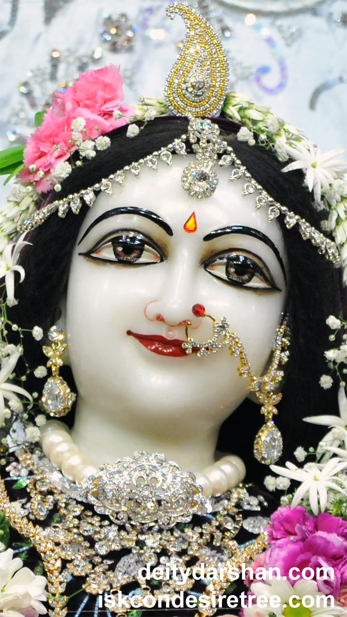 Srimati Radharani Close up Wallpaper (083) Size 675x1200 Download