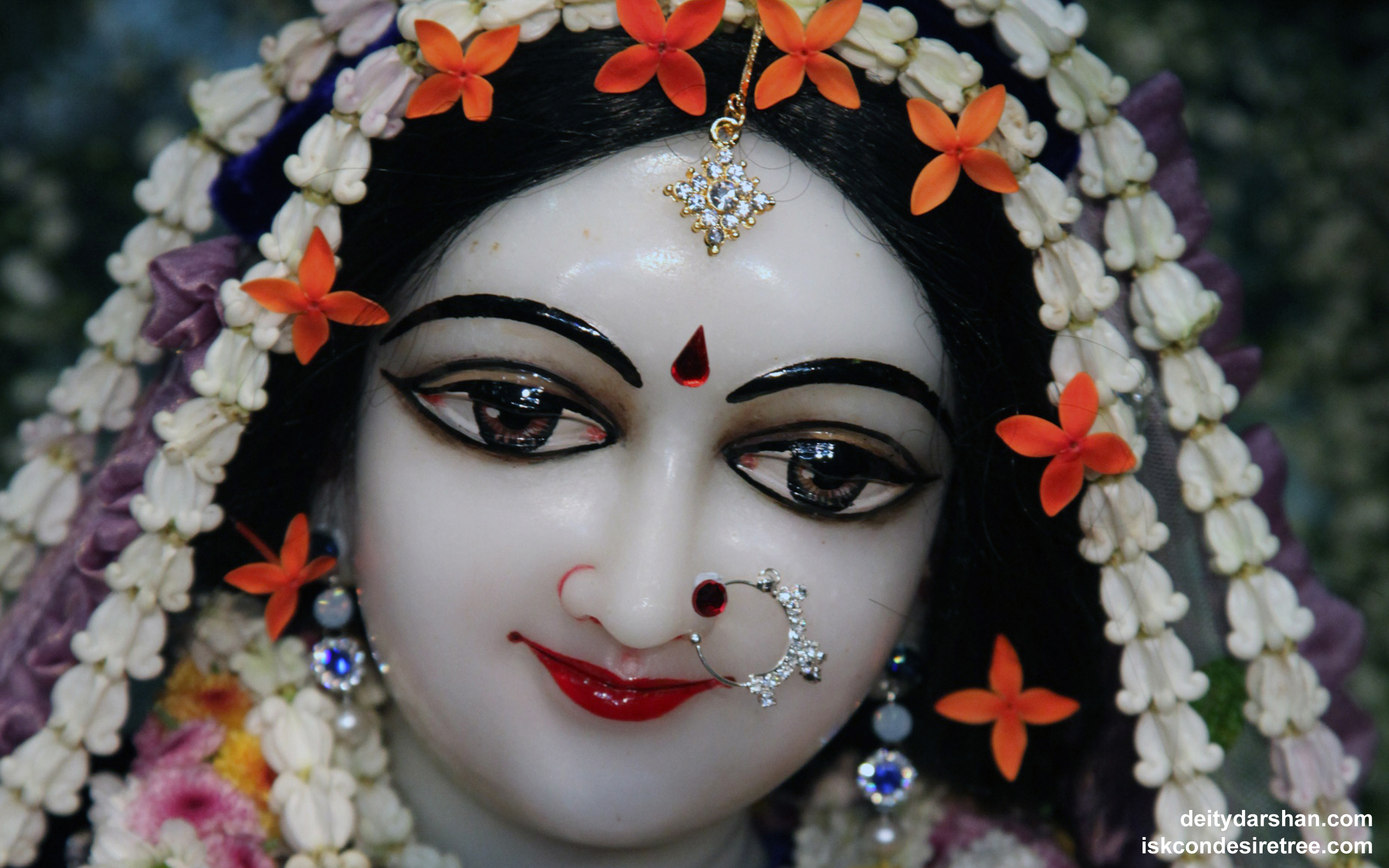 Srimati Radharani Close up Wallpaper (088) Size 2560x1600 Download