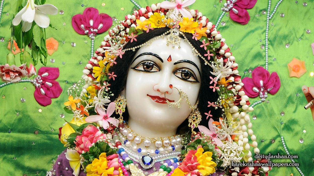 Srimati Radharani Close up Wallpaper (089) Size1280x720 Download