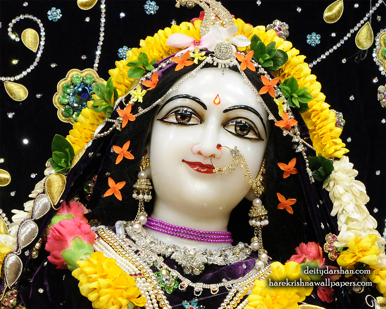 Srimati Radharani Close up Wallpaper (090) Size 1280x1024 Download