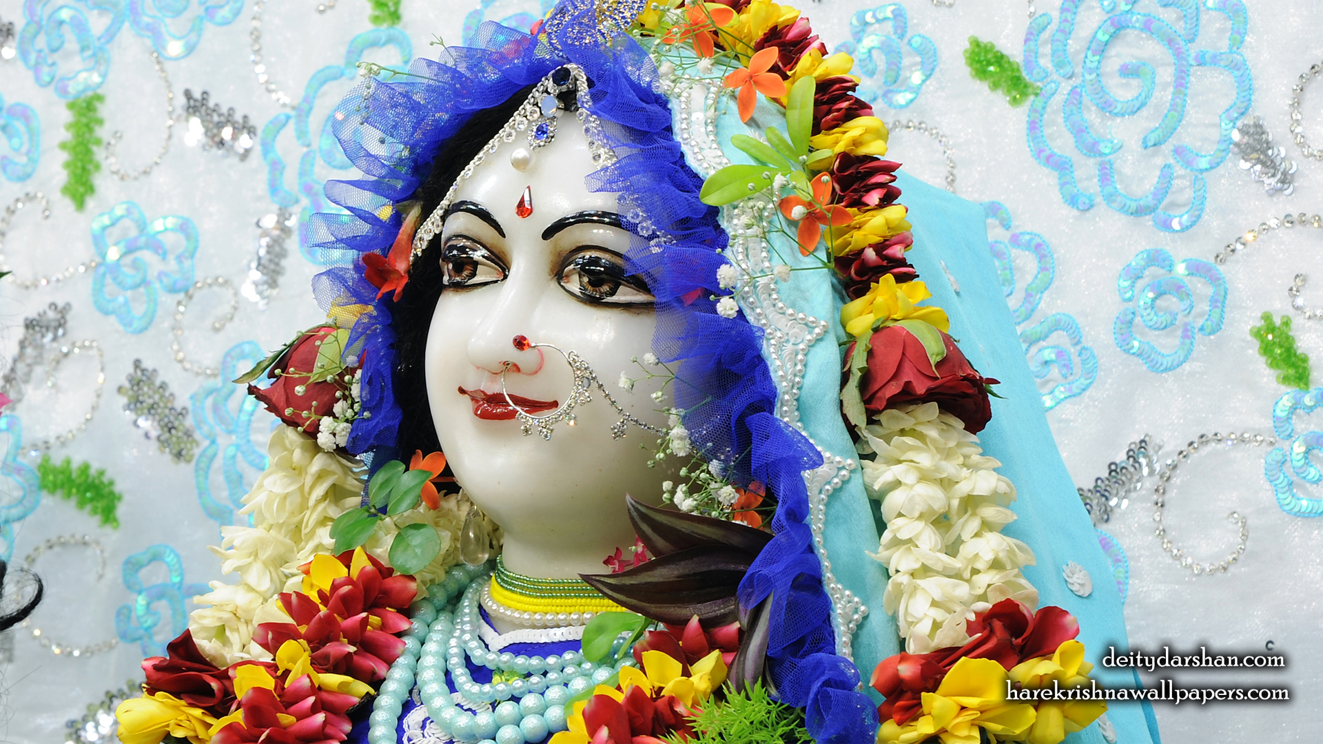 Srimati Radharani Close up Wallpaper (092) Size 1920x1080 Download