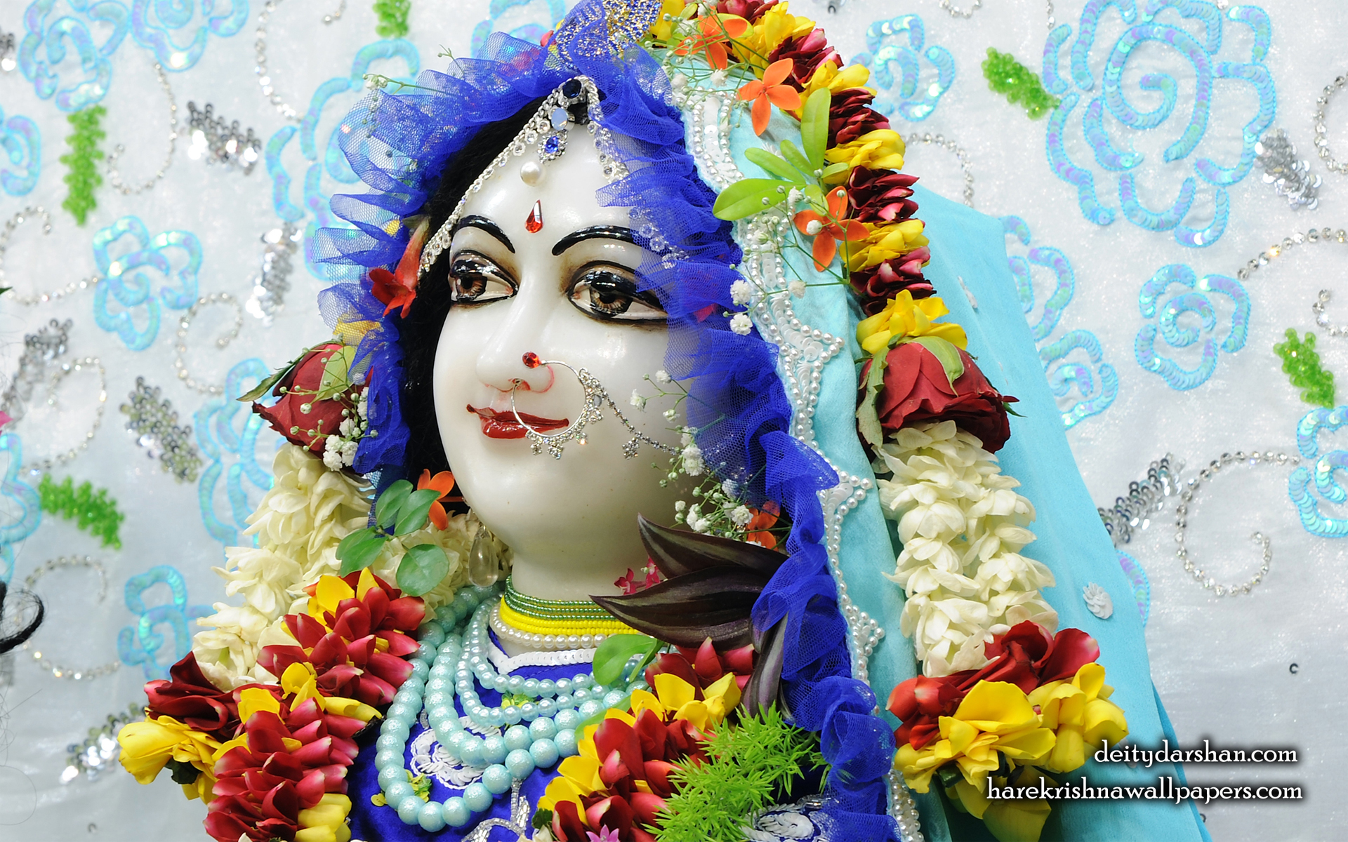 Srimati Radharani Close up Wallpaper (092) Size 1920x1200 Download