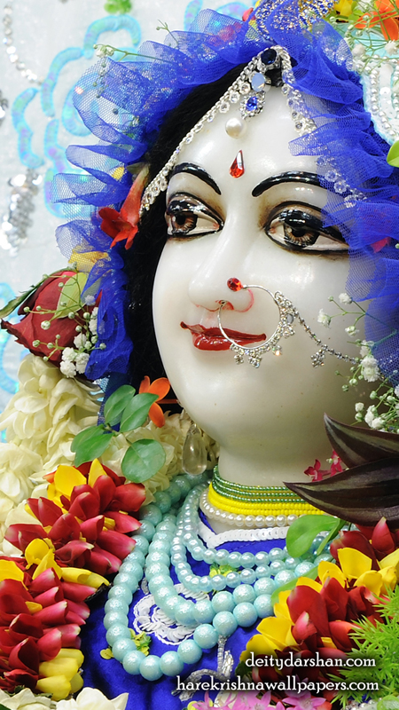 Srimati Radharani Close up Wallpaper (092) Size 450x800 Download