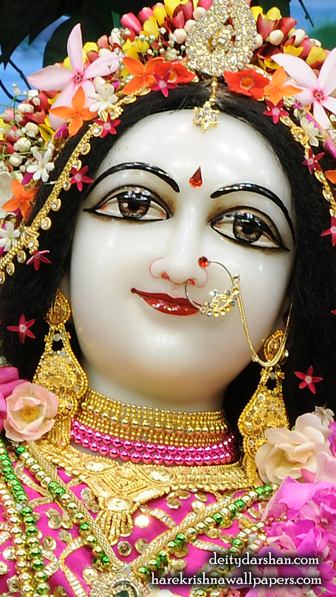 Srimati Radharani Close up Wallpaper (094) Size 675x1200 Download
