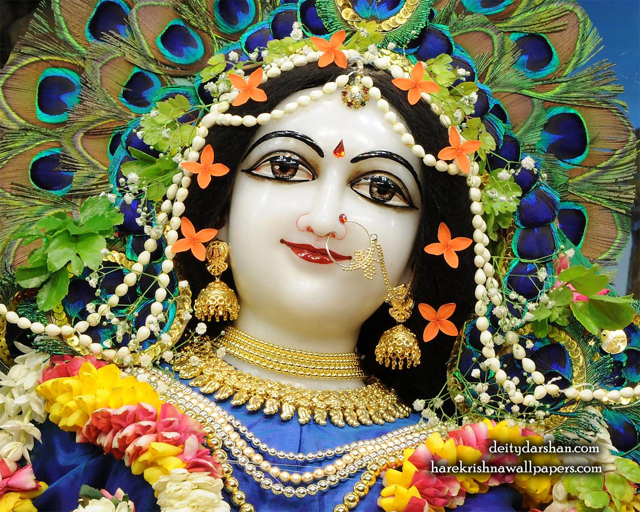 Srimati Radharani Close up Wallpaper (096) Size 1280x1024 Download