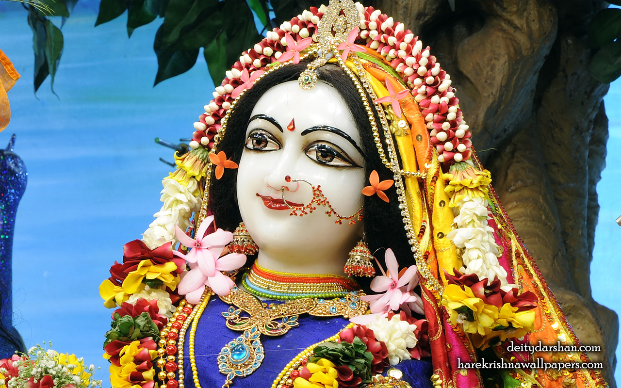 Srimati Radharani Close up Wallpaper (097) Size 1280x800 Download
