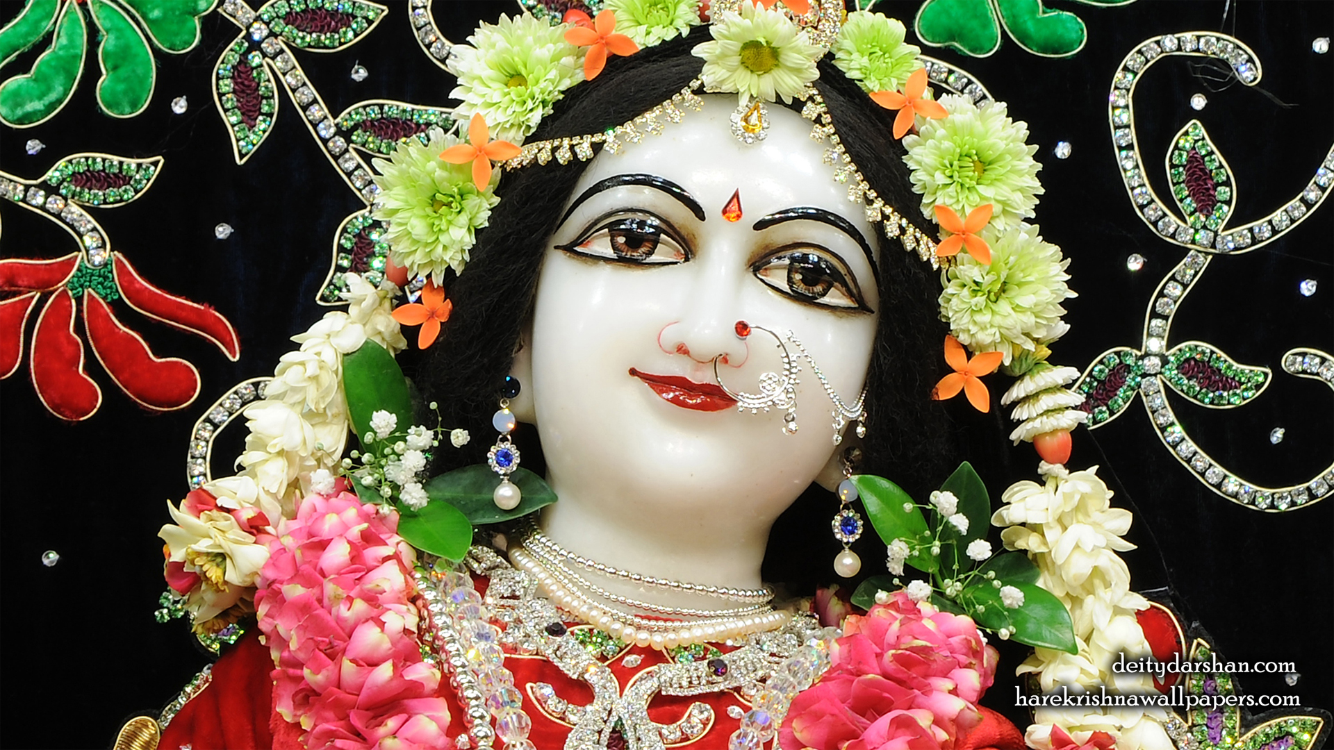 Srimati Radharani Close up Wallpaper (099) Size 1920x1080 Download