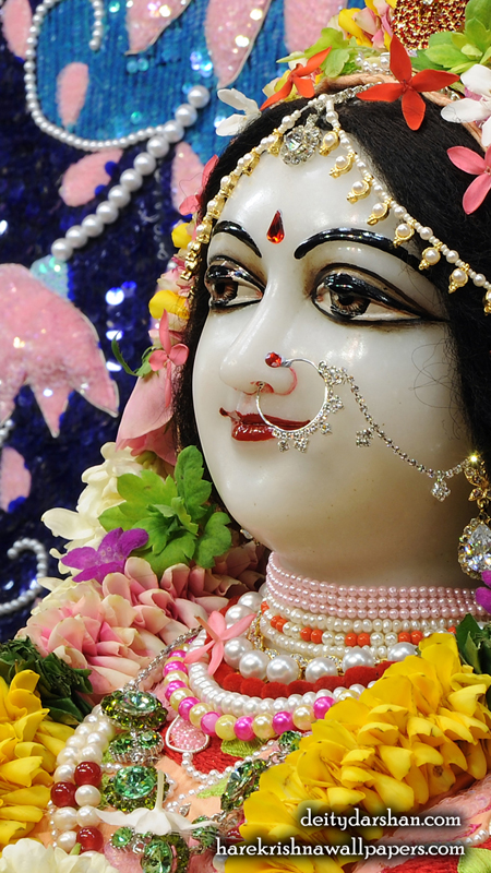 Srimati Radharani Close up Wallpaper (101) Size 450x800 Download