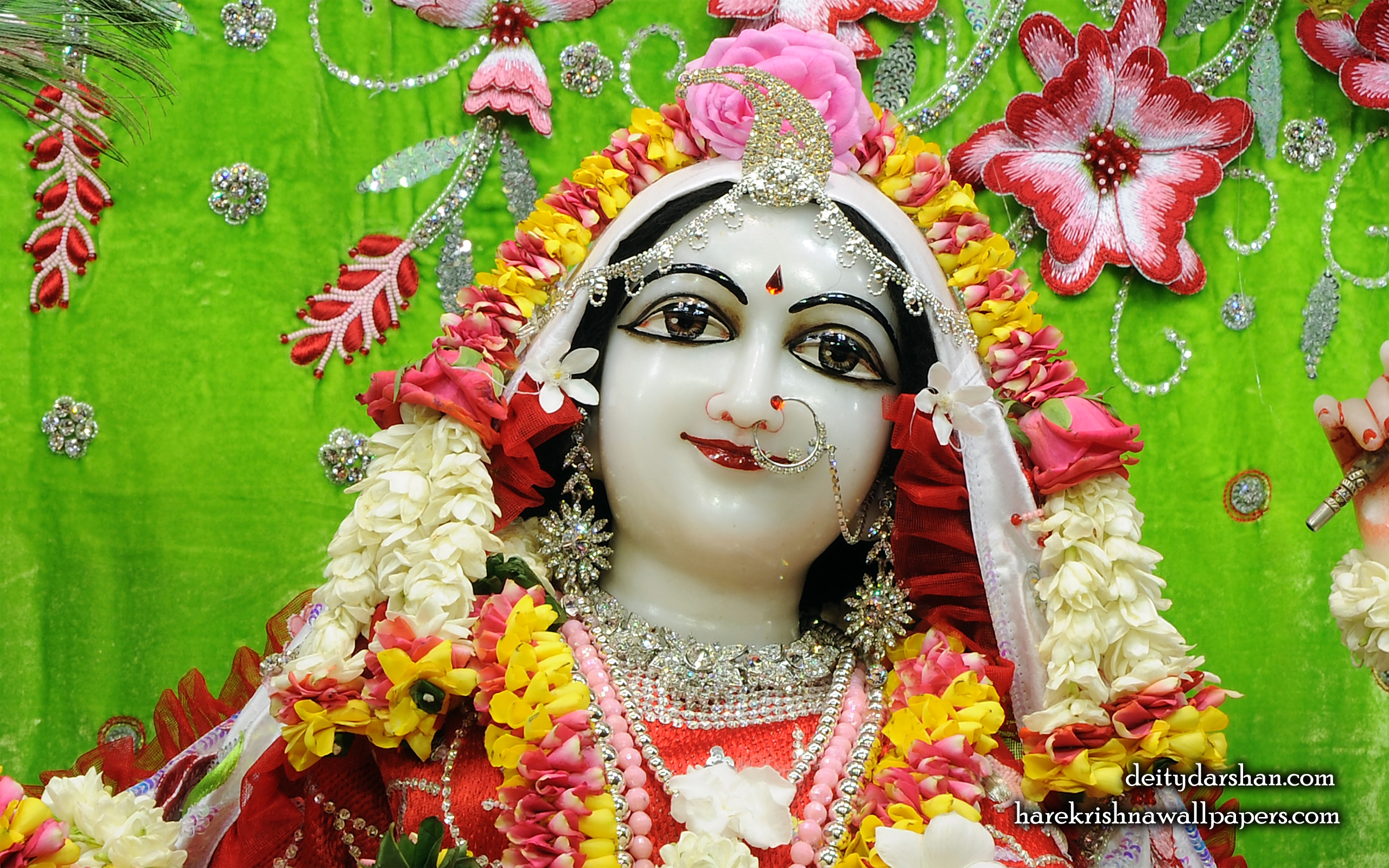 Srimati Radharani Close up Wallpaper (102) Size 2560x1600 Download