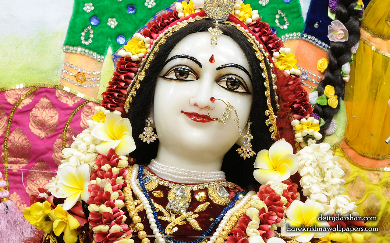 Srimati Radharani Close up Wallpaper (104) Size 1280x800 Download