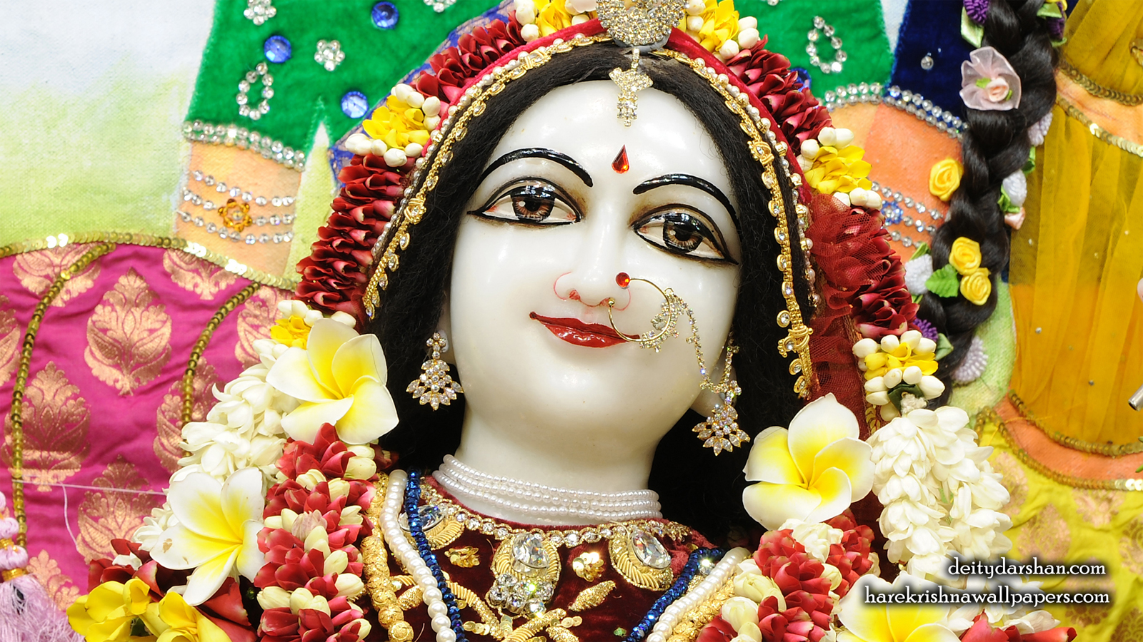 Srimati Radharani Close up Wallpaper (104) Size 1600x900 Download