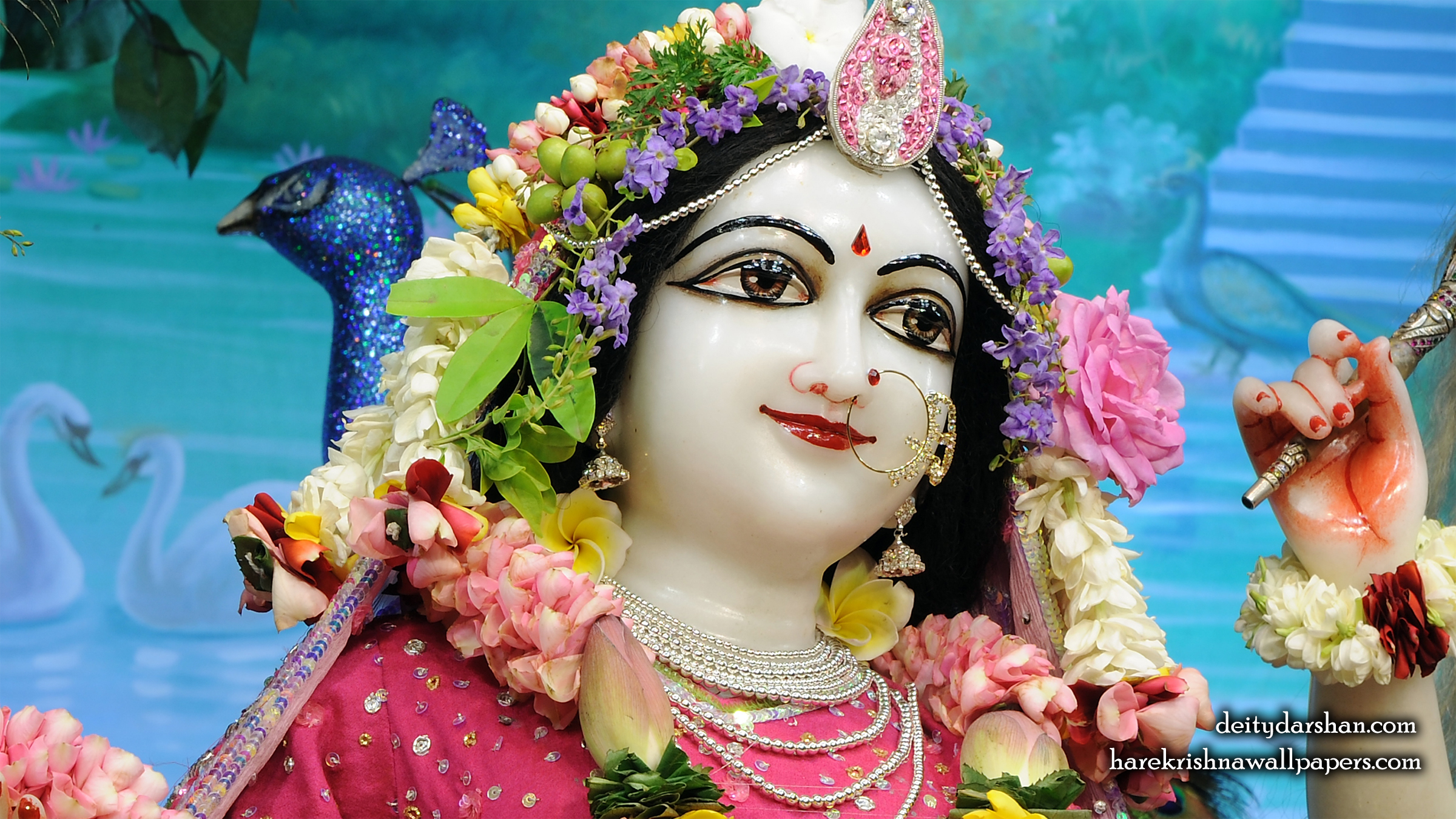 Srimati Radharani Close up Wallpaper (107) Size 2400x1350 Download