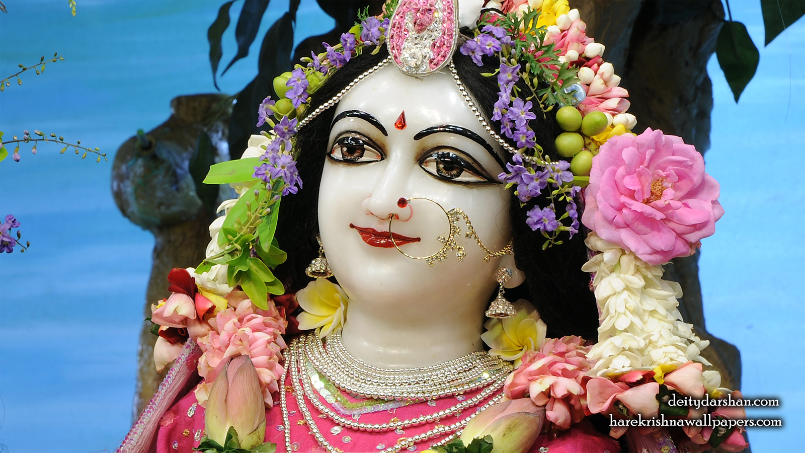 Srimati Radharani Close up Wallpaper (110) Size 1600x900 Download